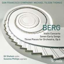 "Alban Berg (1885-1935): Violinkonzert ""Dem Andenken eines Engels"", Super Audio CD"