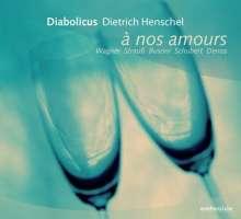 Diabolicus - A nos amours, CD