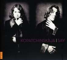 Patricia Kopatchinskaja & Fazil Say - Violinsonaten, CD