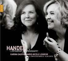 "Georg Friedrich Händel (1685-1759): Arien & Szenen aus Opern & Oratorien - ""Streams of Pleasure"", CD"
