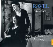 "Maurice Ravel (1875-1937): Lieder ""Melodies"", CD"