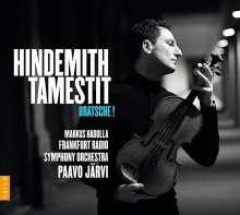 Paul Hindemith (1895-1963): Sonate für Viola & Klavier op.11 Nr.4, CD