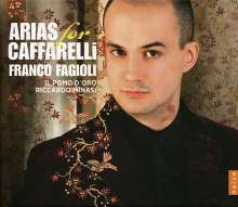 Franco Fagioli - Arias for Caffarelli, CD