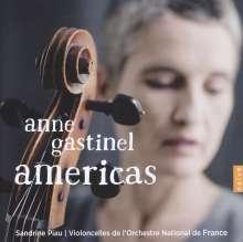 Anne Gastinel - Americas, CD
