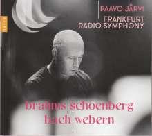 Paavo Järvi -  Brahms / Schönberg / Bach / Webern, CD