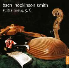 Johann Sebastian Bach (1685-1750): Cellosuiten BWV 1010-1012 für Theorbe, CD