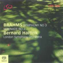 Johannes Brahms (1833-1897): Symphonie Nr.3, SACD