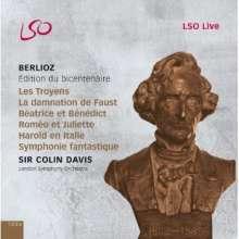 Hector Berlioz (1803-1869): Berlioz Edition - Colin Davis dirigert Berlioz, 12 CDs
