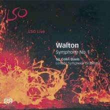 William Walton (1902-1983): Symphonie Nr.1, Super Audio CD