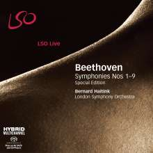 Ludwig van Beethoven (1770-1827): Symphonien Nr.1-9, 6 Super Audio CDs