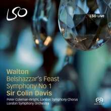 William Walton (1902-1983): Symphonie Nr.1, Super Audio CD