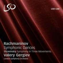 Sergej Rachmaninoff (1873-1943): Symphonische Tänze Nr.1-3, SACD
