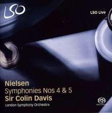 Carl Nielsen (1865-1931): Symphonien Nr.4 & 5, SACD