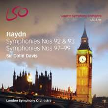 Joseph Haydn (1732-1809): Symphonien Nr.92,93,97-99, 2 Super Audio CDs