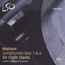 Carl Nielsen (1865-1931): Symphonien Nr.1 & 6, Super Audio CD
