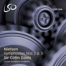 Carl Nielsen (1865-1931): Symphonien Nr.2 & 3, SACD