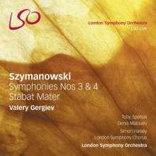 Karol Szymanowski (1882-1937): Symphonien Nr.3 & 4, SACD