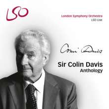 Colin Davis Anthology, 8 Super Audio CDs, 4 CDs und 1 DVD