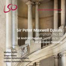 Peter Maxwell Davies (1934-2016): Symphonie Nr.10, Super Audio CD
