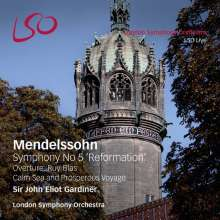 "Felix Mendelssohn Bartholdy (1809-1847): Symphonie Nr.5 ""Reformation"", 2 SACDs"