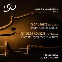 Gustav Mahler (1860-1911): Der Tod und das Mädchen für Kammerorchester, Super Audio CD