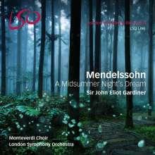 Felix Mendelssohn Bartholdy (1809-1847): Ein Sommernachtstraum, 1 Super Audio CD und 1 Blu-ray Audio