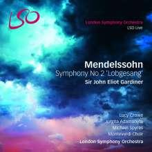"Felix Mendelssohn Bartholdy (1809-1847): Symphonie Nr.2 ""Lobgesang"", SACD"
