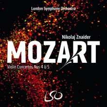 Wolfgang Amadeus Mozart (1756-1791): Violinkonzerte Nr.4 & 5, SACD