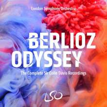 Hector Berlioz (1803-1869): Berlioz Odyssey - The Complete Sir Colin Davis Recordings, 10 CDs