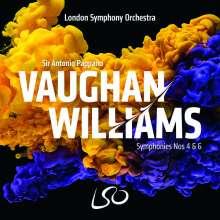 Ralph Vaughan Williams (1872-1958): Symphonien Nr.4 & 6, Super Audio CD