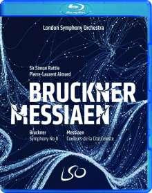 Anton Bruckner (1824-1896): Symphonie Nr.8, 2 Blu-ray Discs