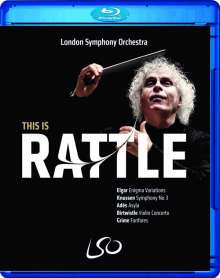 Simon Rattle - This is Rattle, Blu-ray Disc
