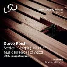 Steve Reich (geb. 1936): Sextet (180g), LP