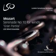 "Wolfgang Amadeus Mozart (1756-1791): Serenade Nr.10 ""Gran Partita"", SACD"