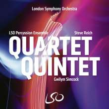 LSO Percussion Ensemble - Quartet Quintet, CD
