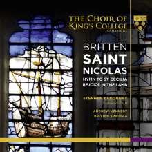 Benjamin Britten (1913-1976): St.Nicolas-Cantata op.42, 1 CD und 1 Super Audio CD Non-Hybrid
