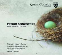 English Solo Song - Proud Songsters, CD