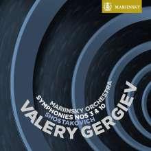 Dmitri Schostakowitsch (1906-1975): Symphonien Nr.3 & 10, Super Audio CD