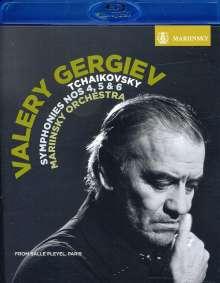 Peter Iljitsch Tschaikowsky (1840-1893): Symphonien Nr.4-6, Blu-ray Disc