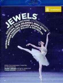 Mariinsky Ballet & Orchestra:Jewels, Blu-ray Disc