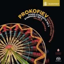 Serge Prokofieff (1891-1953): Klavierkonzert Nr.3, SACD