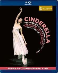 Mariinsky Ballett: Cinderella (Prokofieff), 1 DVD und 1 Blu-ray Disc
