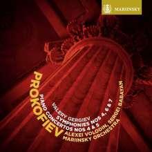 Serge Prokofieff (1891-1953): Symphonien Nr.4,6,7, 2 SACDs