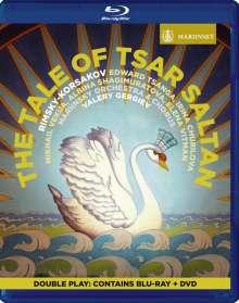 Nikolai Rimsky-Korssakoff (1844-1908): Zar Saltan, 2 Blu-ray Discs
