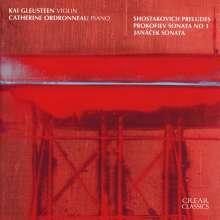 Dmitri Schostakowitsch (1906-1975): 19 Preludes aus op.34 für Violine & Klavier, CD
