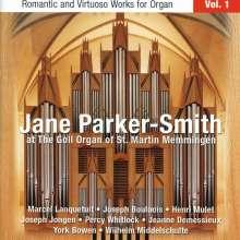 Jane Parker-Smith - Romantische & virtuose Orgelwerke Vol.1, CD
