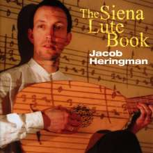 Jacob Heringman - The Siena Lute Book, CD