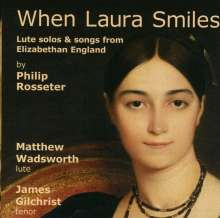 Philip Rosseter (1568-1623): When Laura Smiles, CD