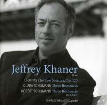 Johannes Brahms (1833-1897): Sonaten f.Klarinette & Klavier op.120 Nr.1 & 2 (arr.f.Flöte), CD