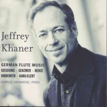Jeffrey Khaner - Deutsche Flötenmusik, CD